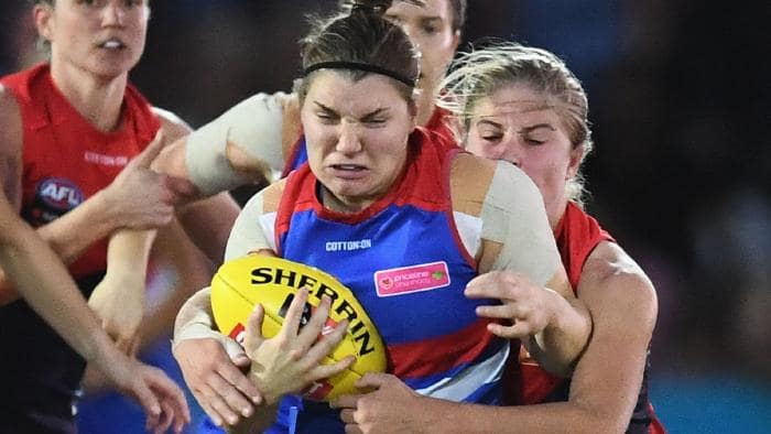 The First Bounce Of The AFLW Grand Final Has Been Moved