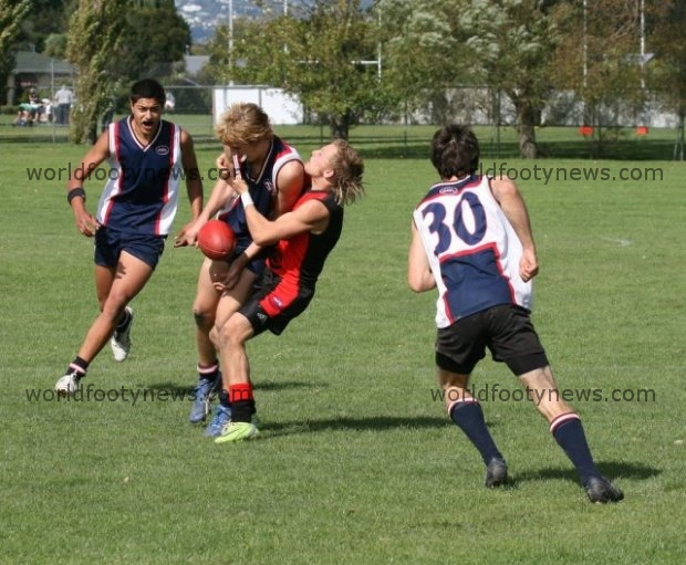Canterbury vs Auckland (the 2009 winners) NZ U20s