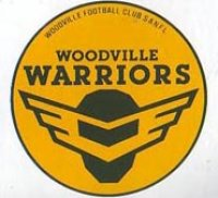 The logo for the Woodville Warriors, an old SANFL team that merged with West Torrens Eagles around 1990.
