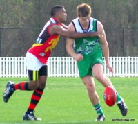 John Heslin - Ireland vs East Timor - 2011 AFL International Cup3